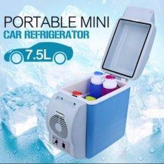 Giá Bán Tủ Lạnh Mini Hộ Gia Đinh Va Tren Xe Hơi 7 5L Xanh Mới Nhất