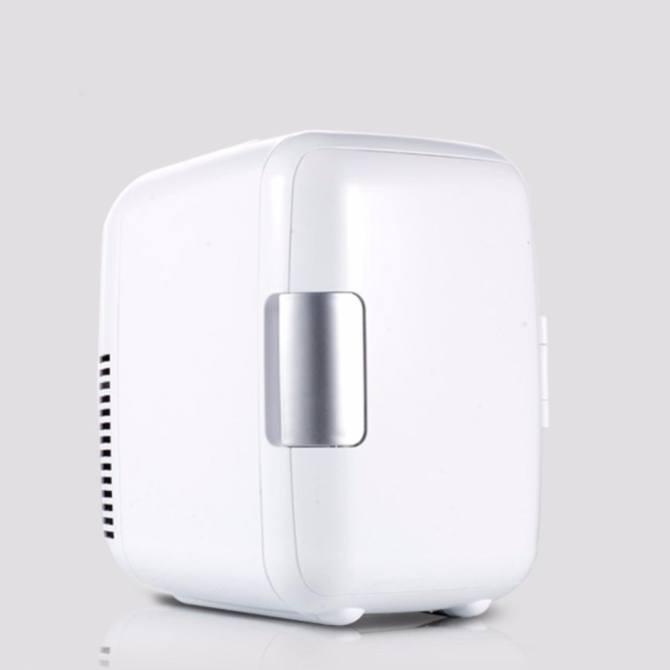 Tủ lạnh mini hộ gia đình và xe hơi Car Cooler 4Lít (Trắng)