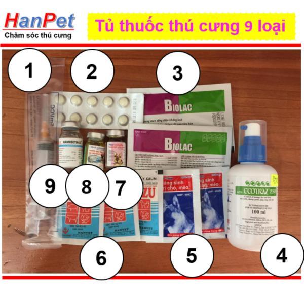 HN-Tủ  thú cưng 9 loại (hanpet 407)