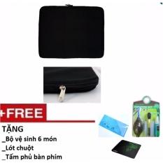 Offer Khuyến Mãi Túi Chống Sốc Laptop 15 Inch (15.6 Inch) Tặng Bộ Vệ Sinh 6 Món, Lót Chuột, Phủ Bàn Phím