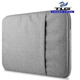 Túi chống sốc Macbook cao cấp 13 inch Đồ Da Thành Long TLG 189 (Ghi xám) tặng 01 bút bi cao cấp TLG K 410 thumbnail