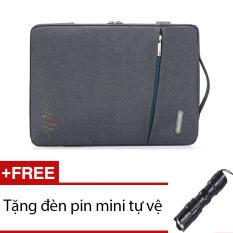 Giá Bán Tui Chống Xốc Macbook 15Inh Upotimal Xam Tặng 1 Đen Pin Mini Đen Mới Nhất