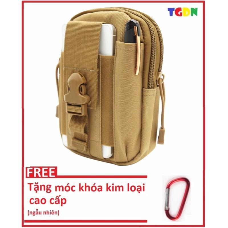Túi đeo hông thắt lưng siêu bền chống nước + tặng kèm móc khóa kim loại cao cấp