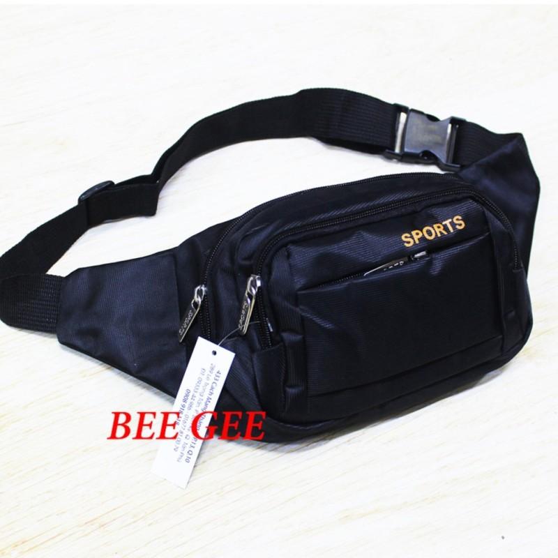 Túi đeo chéo nam nữ unisex túi bao tử vải du lịch thời trang Hàn quốc hè 2019 Bee Gee SPORT cao cấp chông thấm nước
