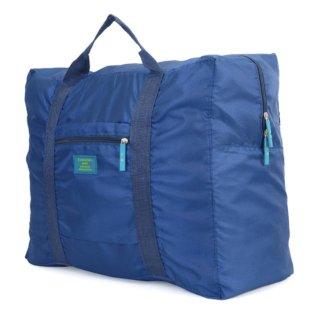Túi du lịch đa năng gắn vali kéo (xanh đậm) thumbnail
