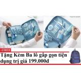 Tui Du Lịch Đựng Đồ Ca Nhan Monopoly Xanh Dương Tặng Kem Balo Du Lịch Gấp Gọn Cho Deal 24H Chiết Khấu