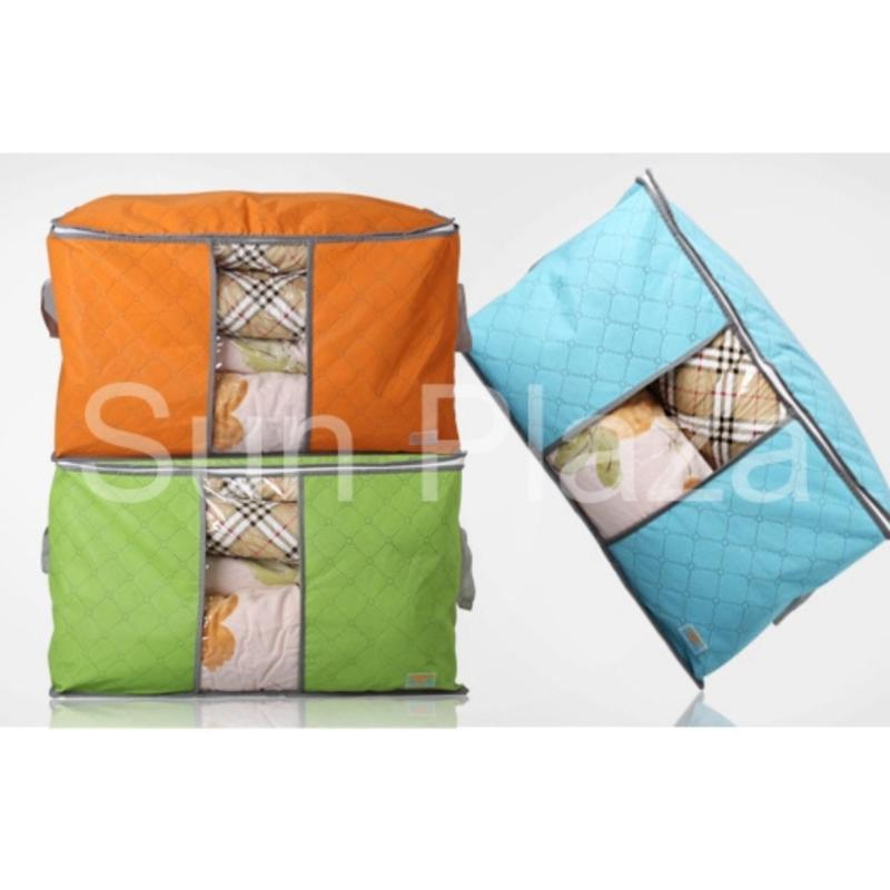 Túi đựng chăn màn quần áo - Túi đựng quần áo du lịch- Túi vải đựng đồ đa năng loại lớn nằm ngang  Sun Plaza