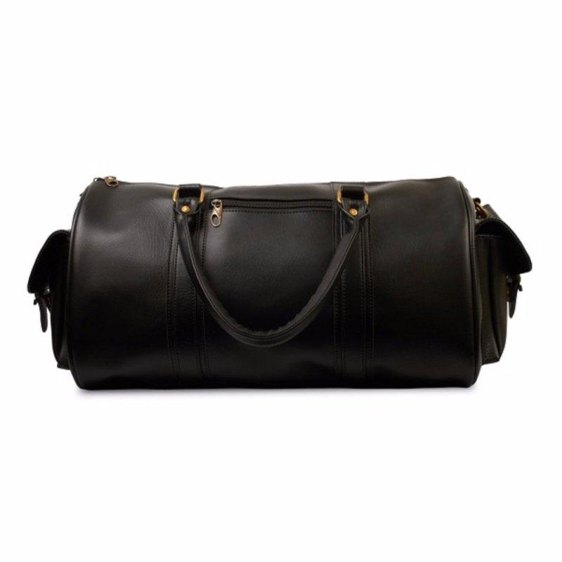 Túi xách du lịch túi da PU LAKA (Đen) LKTX04