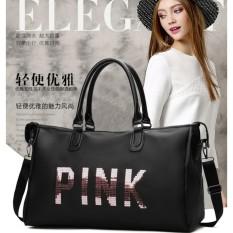 Túi xách du lịch PINK sành điệu cho phái đẹp (Đen)