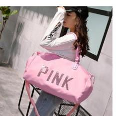 Túi xách du lịch PINK sành điệu cho phái đẹp (màu hồng)
