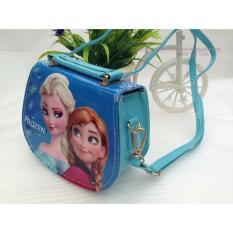 Giá bán Túi xách tay và đeo chéo dáng hộp hình công chúa Elsa, Anna cho bé gái