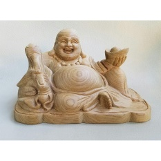 Mua Tượng Phật Di Lặc Bằng Gỗ Xa Xị Để Trong Xe O To Hà Nội
