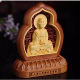 Mua Tượng Phong Thủy Phật Quan Am Bằng Gỗ Cao Cấp Handmade F129 Trang Tri O To Hồ Chí Minh