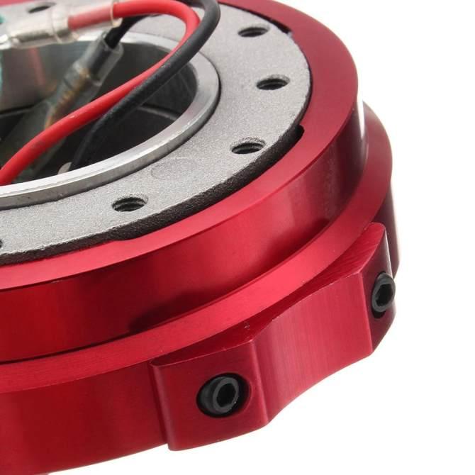 ... Universal Car Steering Wheel Quick Release Hub Racing Adapter Snap Off Boss Kit - intl ...