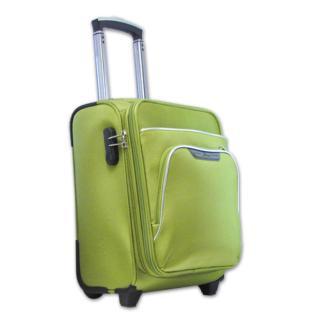Vali kéo vải nhỏ gọn rẻ tốt bền 2 bánh xe cabin size Lime Green TA298 thumbnail
