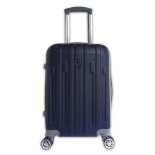 Vali siêu nhẹ nhựa nhám cần kéo tốt xách tay 7Kg xanh navy TA423 thumbnail