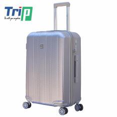 Giá Bán Vali Chống Trộm Trip Pc056 Size 60Cm 24Inch Mau Xam Trip Hồ Chí Minh