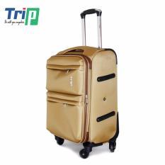 Cửa Hàng Vali Vải Trip P033 Size 60Cm 24Inch Mau Vang Trực Tuyến