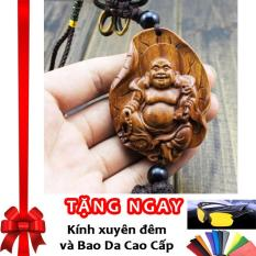 Bán Vong Binh An Tượng Đức Phật Di Lặc Treo Gương Chiếu Hậu Xe O To F131 Nau Tặng Kinh Xuyen Đem Va Bao Da Cao Cấp Nhập Khẩu