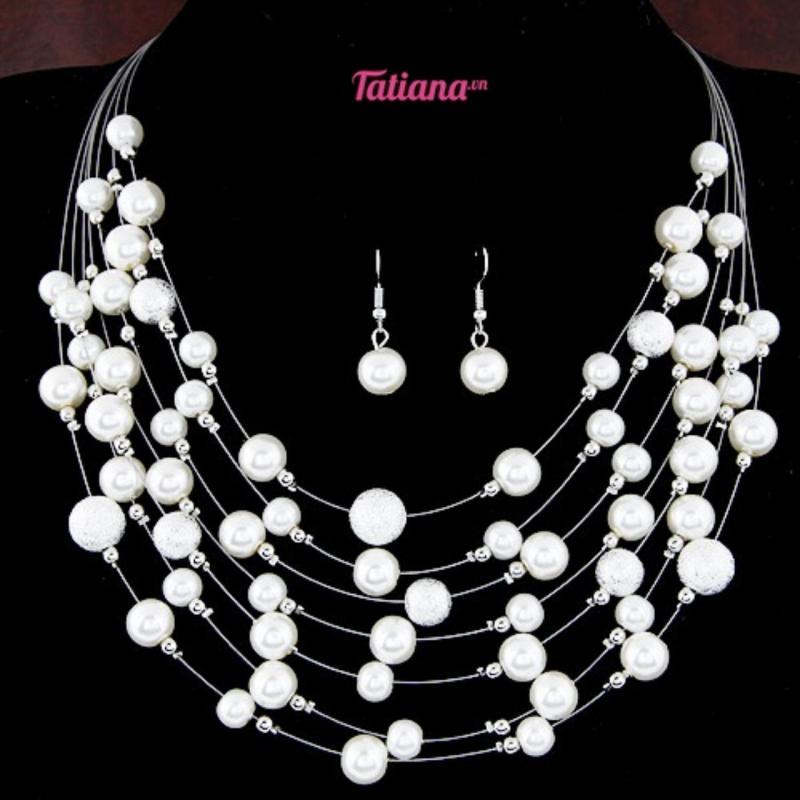 Vòng Cổ Chuỗi Ngọc Trai  - Tatiana - D2183