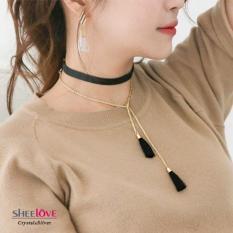 Vòng Cổ Nữ Thời Trang Hàn Quốc Nhật Bản Tua Rua Xinh Xắn Phụ Kiện Xem Quần áo Phong Cách Mới Nhất HKN-1603117 Giá Sốc Nên Mua