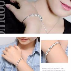 Giá Bán Vong Đeo Tay Nữ Trang Sức Bạc Sodoha Bracelet 70B30 Nguyên