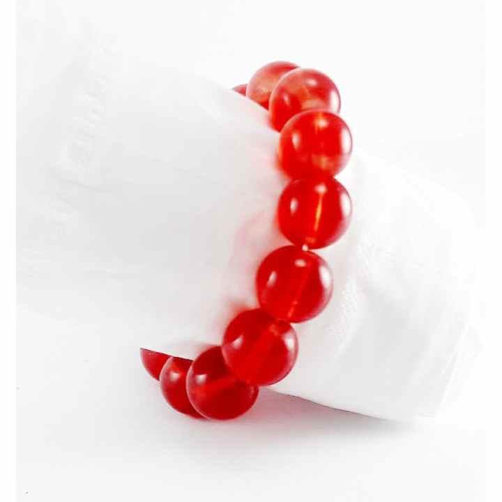 Vòng tay đá nam phong thủy VTN8868 ( Đỏ)
