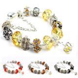 Bán Vong Tay Mạ Bạc Hạt Charms Jewelry Queen Victoria Charm Panda Dz32 Người Bán Sỉ