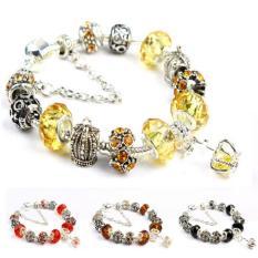 Ôn Tập Vong Tay Mạ Bạc Hạt Charms Jewelry Queen Victoria Charm Panda Dz32 Hà Nội