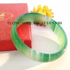 Cửa Hàng Vong Tay Ma Nao Thien Nhien Tron Xanh Đường Kinh 52 60Mm None Trong Tây Ninh