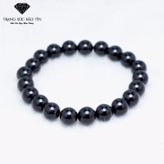Vong Tay Phong Thủy Đa Obsidian Đen 8Mm Bảo Tin Hà Nội