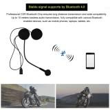 Giá Bán Wireless Bluetooth Hifi Stereo Earphones Headset Hd Microphone For Motorcycle Helmet Intl Oem Mới