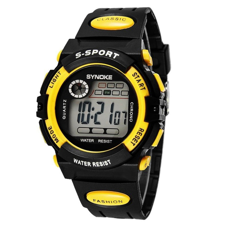 Witkey Fsb Synoke Children Sports Water-Proof Watch-Yellow WF-3O5 (Color:As First Picture) - intl bán chạy