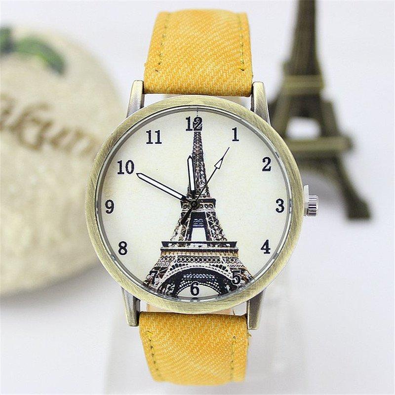 Nơi bán Women Retro Unique Leather Watchband Quartz Wristwatch - intl