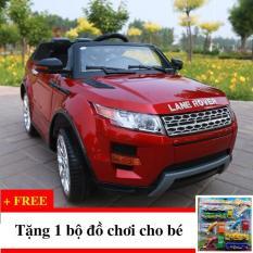 Xe ô tô điện trẻ em KP-2888 (Đỏ) Tặng Bộ Đồ Chơi Cho Bé 12 Món