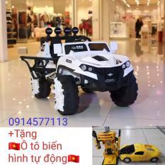 Xe ô tô điện trẻ em SH-1188 (4 động cơ)+(Tặng ô tô biến hình tự động)