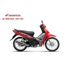 Xe số Honda Alpha 110cc 2017 - Đỏ đen