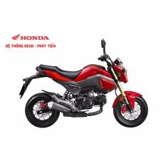 Xe tay côn Honda MSX 125cc FI 2017 - Đỏ ghi đen