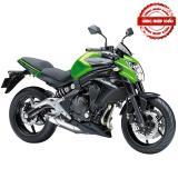 Giá Bán Xe Tay Con Thể Thao Kawasaki Er 6N Abs 649Cc 2016 Đen Phối Xanh La Kawasaki Mới