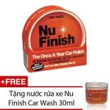 Mua Xi Lau Bong Va Bảo Vệ Sơn Xe Hơi Nu Finish Car Polish Nfp 80 397G Tặng Nước Rửa Xe Nu Finish Car Wash 30Ml Rẻ Trong Hồ Chí Minh