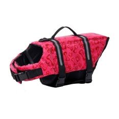 Yooc Fashion Pet Dog Swimming Lifejacket Pet Safety Vest Dog,pink Red (s) - Intl By Wangpai Voos.