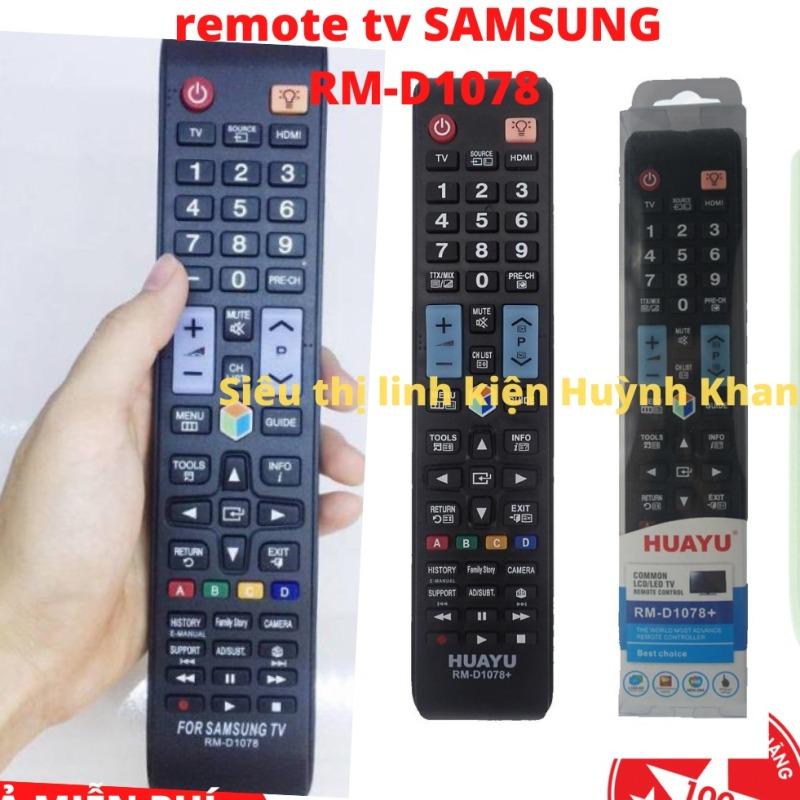 Bảng giá REMOTE TV SAMSUNG RM-D1078