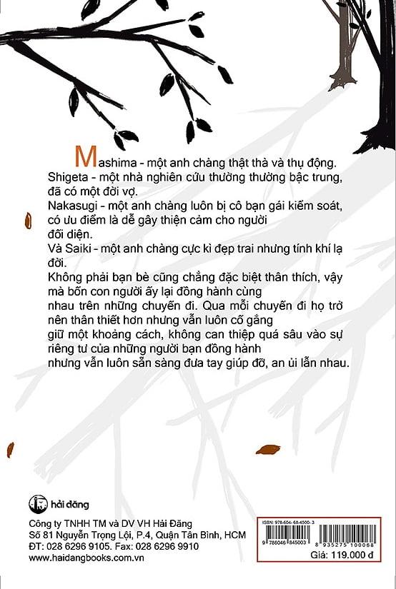 Fahasa - Bốn Chàng Trai Cùng Nhau Đi Du Lịch