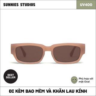 Kính mát Sunnies Studios Gọng Chữ Nhật Jarvis in Cashmere thumbnail