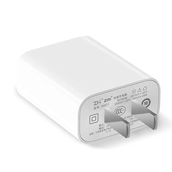 Adapter Sạc 1 Cổng 18W Xiaomi ZMI HA612 Hỗ Trợ Sạc Nhanh QC 3.0 - Hàng Chính Hãng