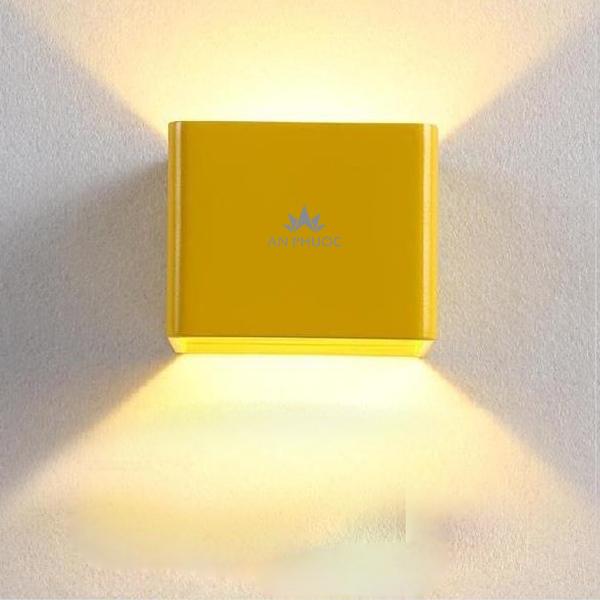 Đèn tường LED hình vuông hắt hai chiều 1122 Sắc màu - BLight