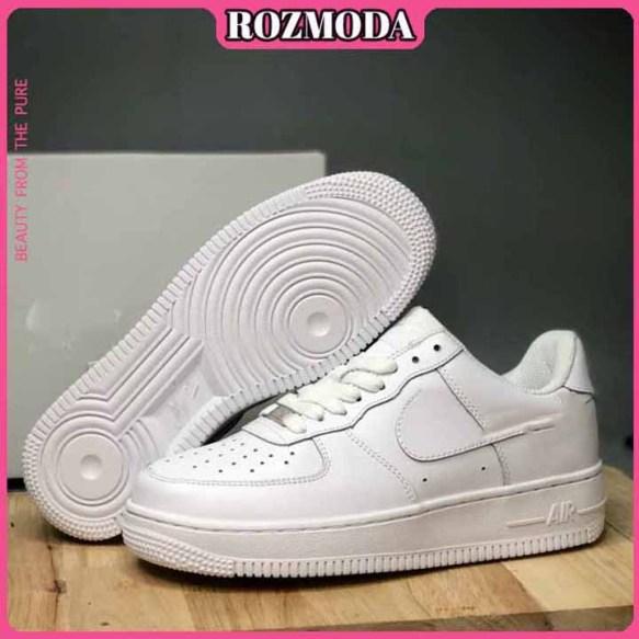 Giày Sneaker Air Force 1 Trắng AF1 Full Trắng ROZMODA GI17 giá rẻ