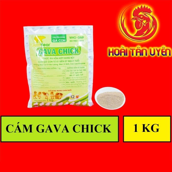 CÁM GAVACHICK chống hao hụt gà con BỊCH 1 KG