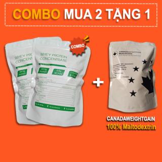2Kg Whey Protein Concentrate NZMP 80% Protein tặng 1Kg Maltodextrin - Đạm whey cô đặc thumbnail