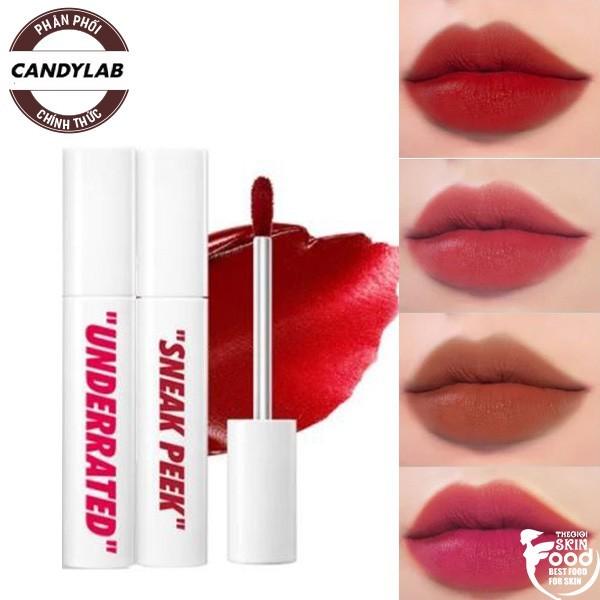 Son Kem Siêu Lì, Chống Trôi CandyLab Creampop The Velvet Lip Color 4.5g giá rẻ